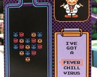 Dr. Mario Card (HARD COPY)