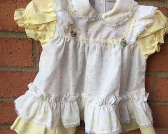 Cute Yellow Baby Girl Dress