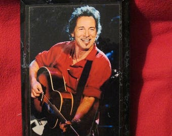 BRUCE SPRINGSTEEN.  Wood panel. Ship from Usa worldwide