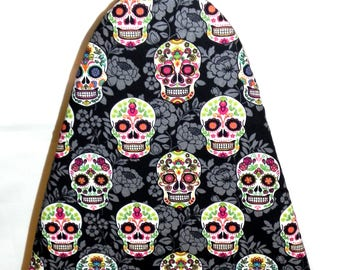 Tabletop Ironing Board Cover - Day of the Dead Sugar Skulls -  Laundry and Housewares
