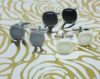 Custom Color and Quantity, Classic Collection Glass Earrings, Wedding, Prom or Formal Attire
