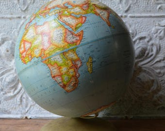 Desk globe etsy vintage rand mcnally desk top world globe gumiabroncs Image collections