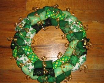 St Patrick Day Wreath