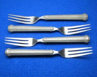 Gorham pewter flatware - 4 dinner forks