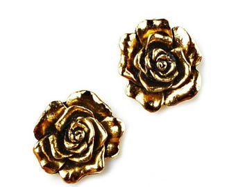 Limited Time Offer Rose Cufflinks - Gifts for Men - Anniversary Gift - Handmade - Gift Box Included