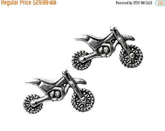 Limited Time Offer Motocross Cufflinks - Gifts for Men - Anniversary Gift - Handmade - Gift Box Included