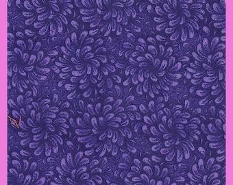 Purple Cotton Fabric Fat Quarters