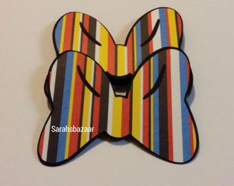 1 Mickey Stripe Bow