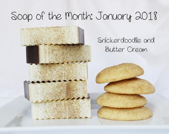 Buttercream and Snickerdoodle Cold Processed Soap