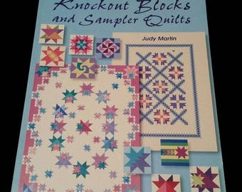 Knockout Blocks and Sampler Quilts by Judy Martin