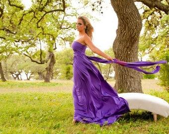 Convertible Infinity Dress with Princess Maxi Skirt