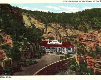 Manitou, Colorado, Cave of the Winds, Entrance - Vintage Postcard - Postcard - Unused (LL)