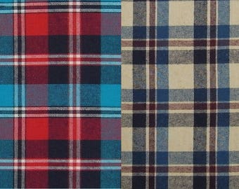 JIMMY checked cotton flannel