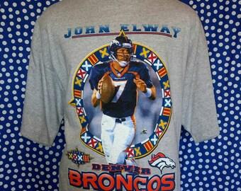1997 John Elway t-shirt, roomy XL