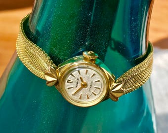 Fortis Audax Swiss made Vintage Beautiful Womens Wrist Watch, women's wrist watch, ladies watch, vintage watch