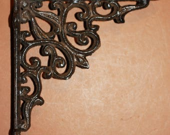 elegant victorian design wall shelf brackets free shipping decorative shelf brackets solid cast