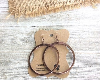 Hoop Earrings, Large Hoop Earrings