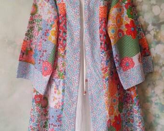 Vibrant Floral Kimono/Jacket