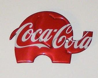 Baby ELEPHANT Magnet - Coca-Cola Soda Can