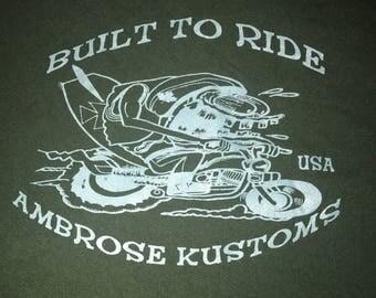 Vintage rat rod shirt