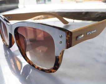 Polyrama Natural Bamboo Sunglasses