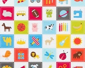 "I-Spy Bermuda Panel by Ann Kelle From Robert Kaufman Fabrics - 24""x44"""