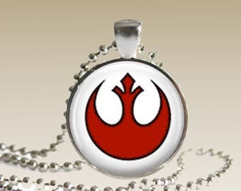 Star Wars Rebel Alliance Necklace Rogue One Pendant Star Wars Jewelry