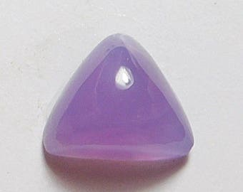 Holly purple agate Designer cab AAA  medium triangle 4.33 ct