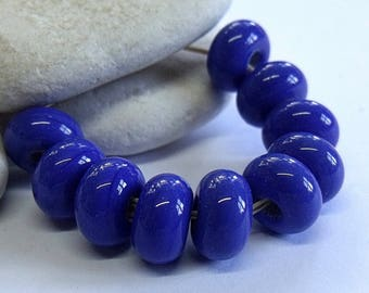 Royal, Lampwork Spacer Beads, SRA, UK