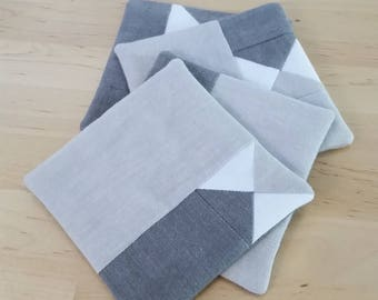 Quilted Coaster Gift Set of 4