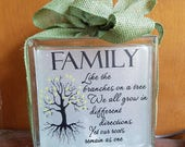 family tree decal for block