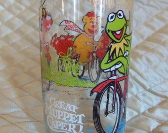 1981 The Great Muppet Caper McDonald's Glass