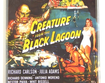 Creature from the Black Lagoon Movie Poster Fridge Magnet (3 x 3 inches)