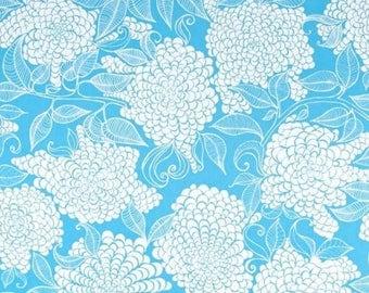 Kaufman - Mystic CANVAS by Valori Wells - Floral - Azure