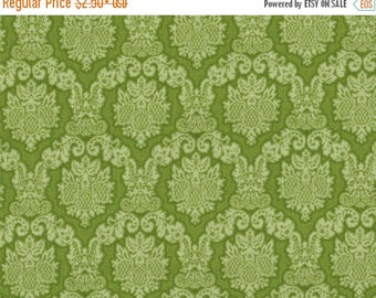 ON SALE Amanda by Blank Quilting, Green Fabric, Floral Fabric, Shabby Chic, 00849