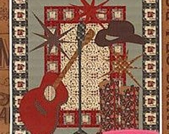Live! At the Honky Tonk by Coach House Designs, Western Quilt Pattern, 01179A