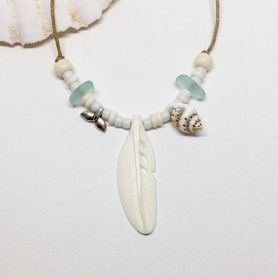 boho jewelry, beachcomber necklace, beach bohemian gypsy mermaid