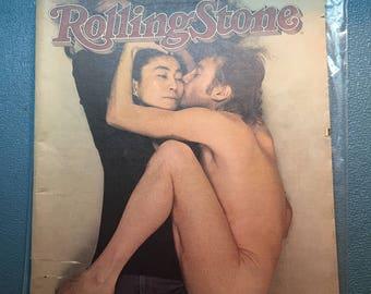 John Lennon and Yoko Ono Rolling Stone Magazine, 1981
