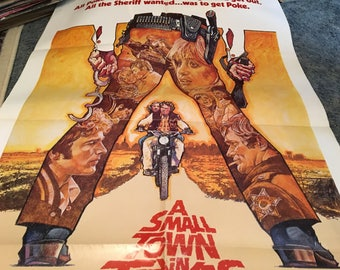 a small town in texas movie poster 27 by 40