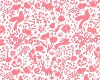 Shadow Garden in Gauze (Blossom) - Double Gauze - Sarah Jane - Sommer - Michael Miller Fabrics - 1 Yard