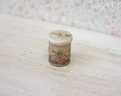 Canister for dollhouse scale