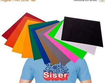 "ON SALE NOW 12"" x 15"" Siser Easy Weed Heat Transfer Vinyl / Craft Vinyl Material / Vinyl Supplies / Htv Vinyl / Cricut / Silhouette / Iron O"