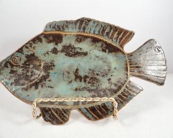 Fish plate, fish server, fish tray, fish platter   ...........     2 available