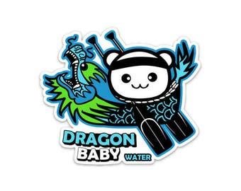 Dragon Baby Water Sticker