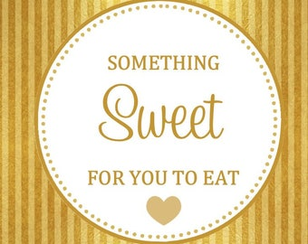 PRINTABLE - Sweet Treat Favor Tag ( YOU PRINT) - Instant Download
