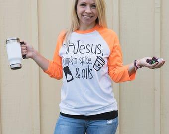 Funny Jesus Shirt - Jesus T Shirt - Funny Coffee Shirt - Jesus And Coffee Shirt - Essential Oil Shirt - Jesus Quote Shirt - Womens TShirt