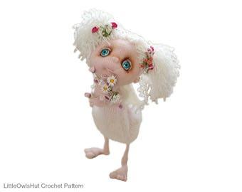 148 Crochet Pattern - Angel Shu - Amigurumi Doll soft toy PDF file by Pertseva Etsy