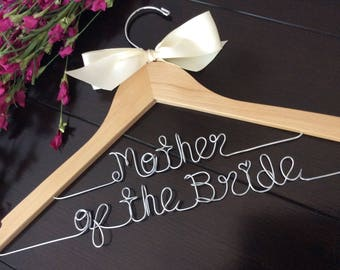 Mother of the bride gift, MOther's day gift, Custom Bridal Hangers,Bridesmaids gift ideas,Wedding hangers with names,Custom made hangers