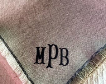 Customizable linen napkins