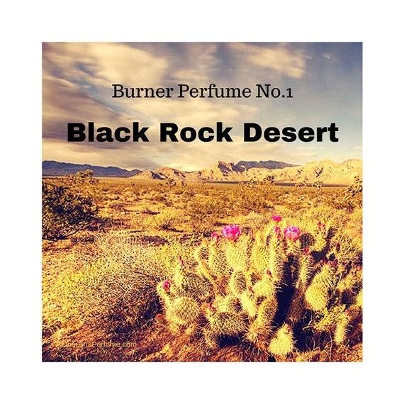 Burner Perfume No.1 Black Rock Desert: A Scent Portrait of the Black Rock Desert in Nevada, a Woody, Unisex, Perfume featuring desert plants